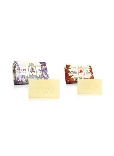 Nestidante Dei Colli Fiorentini Iris Sensual Sabun 250 gr+Papavero Exhilarat Sabun 250 gr Renksiz